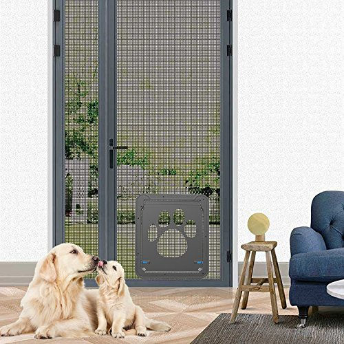 Namsan Dog Screen Door - Inside Size 12x14 inches...