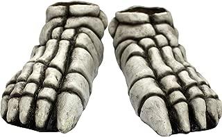skeleton feet shoe covers