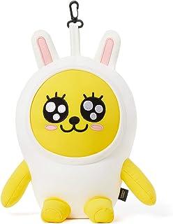 KAKAO FRIENDS Official- 2 in 1 Convertible Plush Microbead Travel Neck Pillow (Muzi)