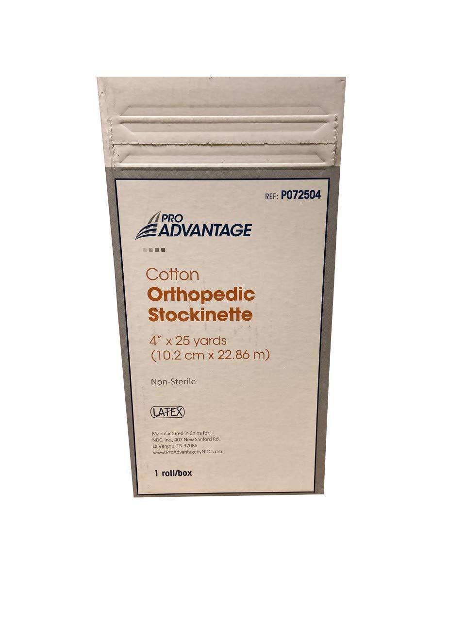 Product Pro Advantage P072504 Stockinette Cotton 25 4