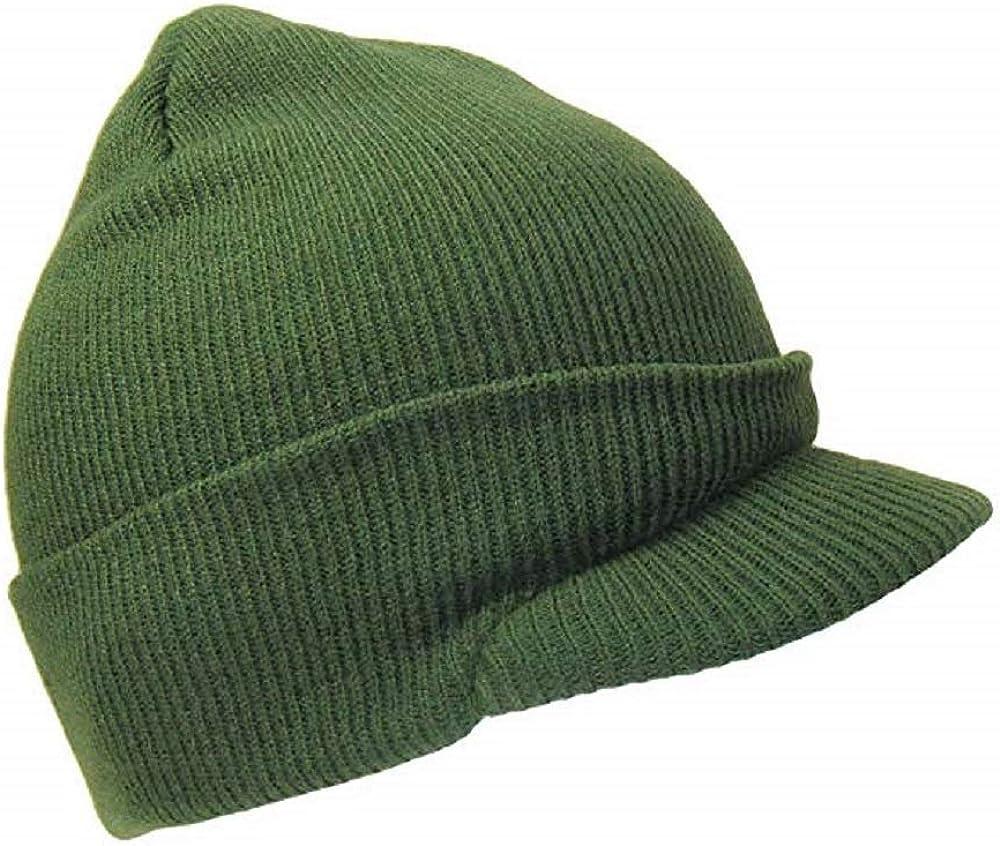 Olive OD Army Green Military Knit Winter Beanie Cap Tucson Mall Stocking Nippon regular agency Ski
