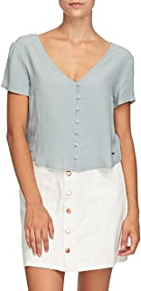 Mossimo Women's Lina Short Sleeve Shirt