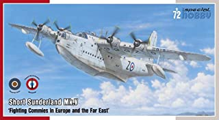 SPH72162 1:72 Special Hobby Short Sunderland Mk.V 'Fighting Commies in Europe and The Far East' [Model Building KIT]