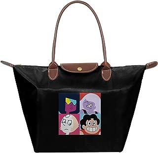 Steven Universe Warhol Style Waterproof Leather Folded Messenger Nylon Bag Travel Tote Hopping Folding School Handbags