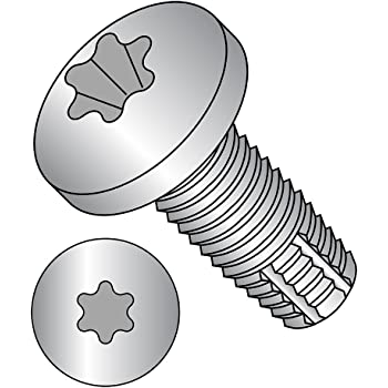 10-32 X 1//2 Phillips Pan Type F Thread Cutting Screw 18-8 Stainless Steel Package Qty 100