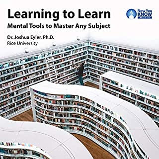 Learning to Learn: Mental Tools to Master Any Subject audiobook cover art