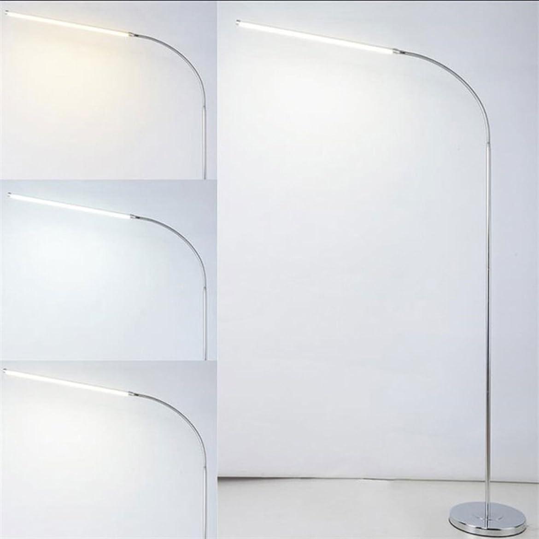 委員長乱す企業フロアスタンド.ランプ 現代9W 12W 15W LEDフロアランプリモートdimmableスタンドライトリビングルームピアノ研究は、標準的な照明leds fixture (Size : 15W 3 color tempera)