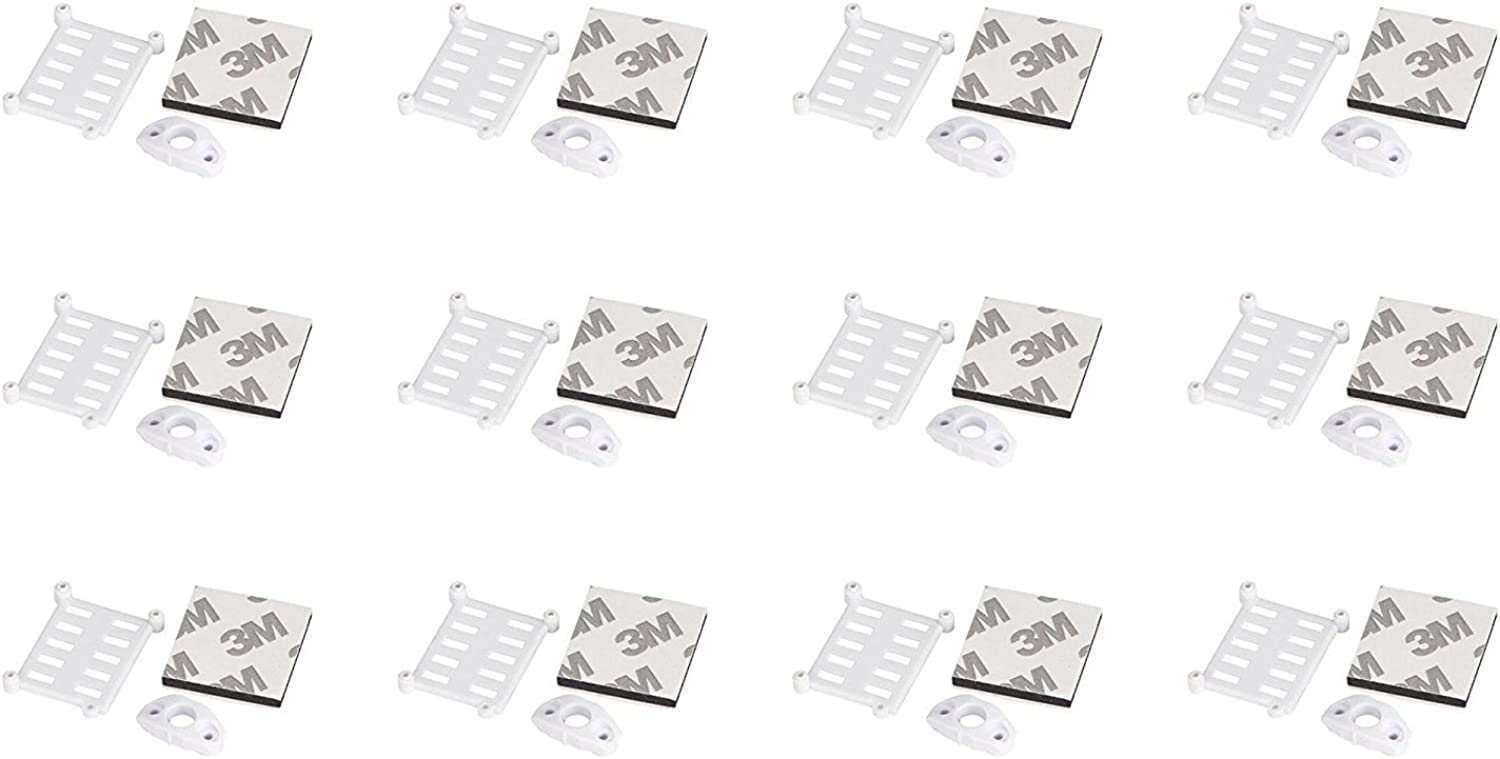 12 x Quantity of Walkera Rodeo 150 150-Z-06(W) Support Block Weiß - FAST FREE SHIPPING FROM Orlando, Florida USA  B01N2P5WX0 König der Quantität  | Sehr gute Farbe