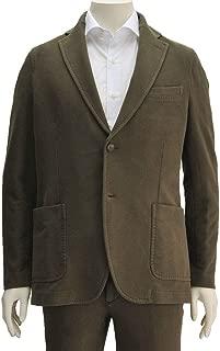 (チルコロ) CIRCOLO 1901 メンズ スウェット2つ釦シングルジャケット モカブラウン系 正規取扱店