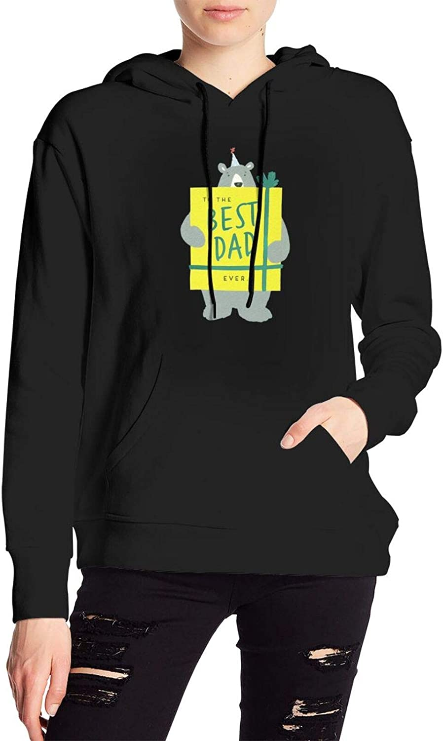Our Mail order shop OFFers the best service Best Dad Ever From Kids Woman Pullovers Girls Sportswear Hoody H