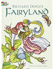 Richard Doyle's Fairyland Coloring Book (Dover Art Coloring Book)