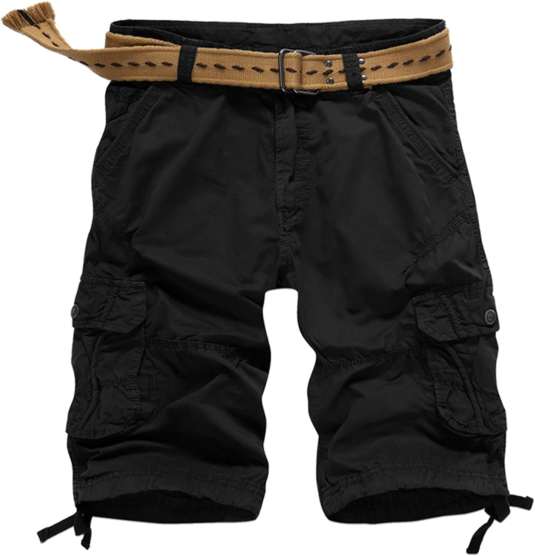 - JUCA JUCA JUCA UNbox-YJ Mens Pure Cotton Outdoor Multi Pocket Loose Fit Cargo Shorts 6f988c