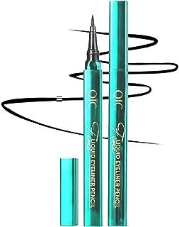 Onlyoily Delineador de ojos a prueba de agua, delineador líquido negro, resistente al agua, antiincrustante, delineador líquido de larga duración
