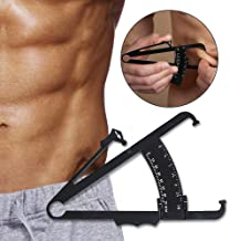 Fat Measure Caliper,Body Fat Calipers for Accurately Measuring Caliper Measurement Tool for Body Fat with Body Fat Percentage Measure Charts