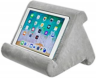 Tablet Pillow Stand - AUMA Multi-Angle Soft Pillow Holder for iPads, Tablets, eReaders, Smartphones, Books, Magazines on B...