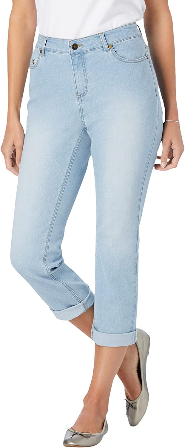 Woman SEAL limited product Within Women's Plus Size Jean Girlfriend Stretch mart Tall