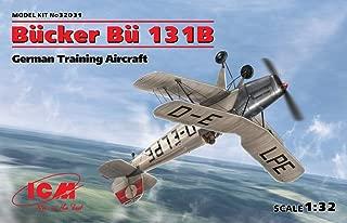 ICM Airplane BÜCKER BÜ 131B, German Training Aircraft 1/32 Scale Model KIT 32031