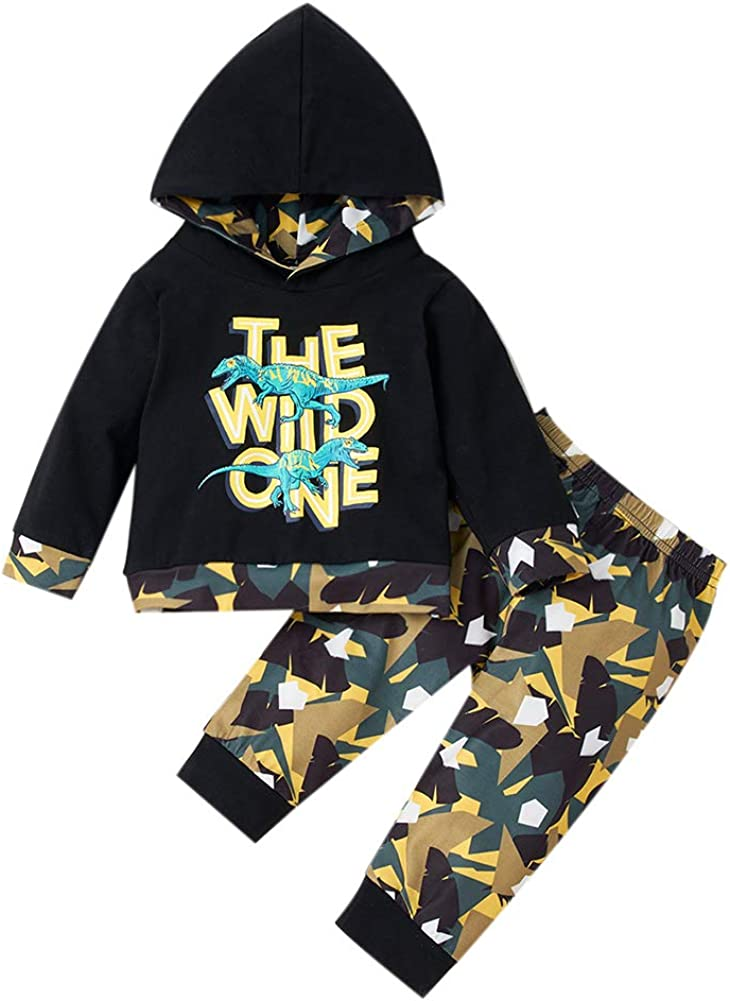 Toddler Baby Girl Boy Fall Winter Clothes Tie Dye Hoodie Long Sleeve Sweatshirt Top Pants Tracksuit Set 2 Pcs