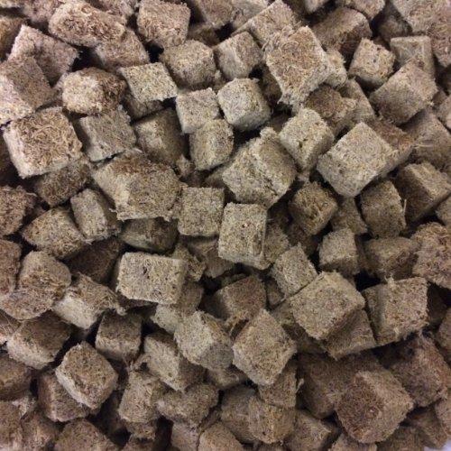Finest Fish Food Cubes Tubifex séchés au gel pour poissons d'aquarium 200 g