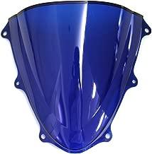 OyOCycle Windshield for Suzuki GSXR 600 750 K11 2011-2015 GSXR600 GSXR750 2012 2013 2014 Double Bubble Windscreen Wind Deflector Wind Splitter