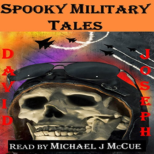 Spooky Military Tales audiobook cover art