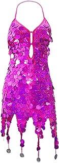 ワンピースレディース 夏春 スリングドレス スパンコール ナイトクラブ 体型カバー せくしー 舞台衣装 パーティー カラオケ