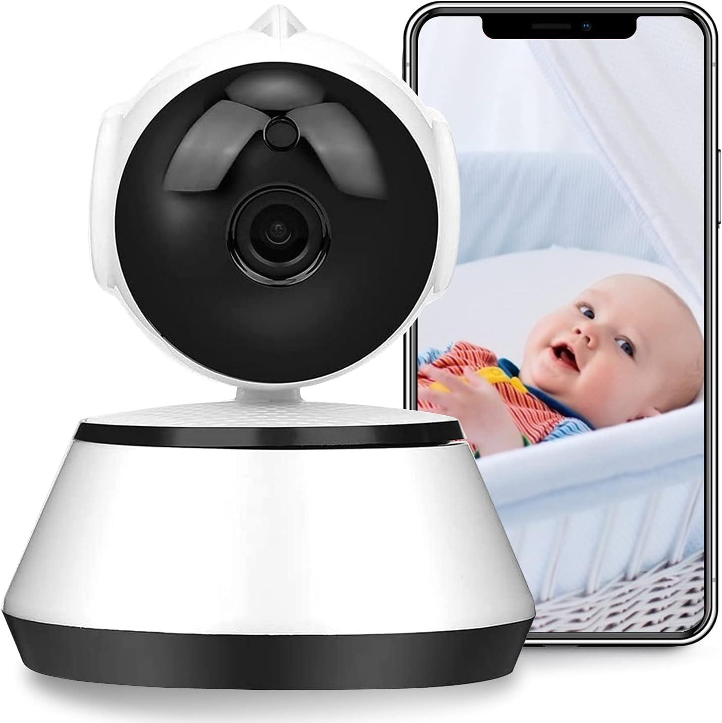 Qing niao Wireless Baby Monitor Security Camera Two Way Intercom Baby Monitor 110-240V