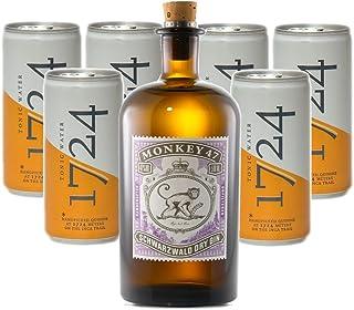 Monkey 47 Gin 1 x 0.5 l mit 1724 Tonic Water 6 x 0.2 l