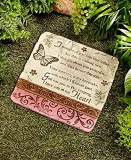 I Thought of You Stone Decorative memorial stone For your yard