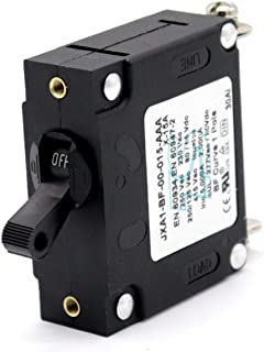T Tocas 15 amp A-Series Toggle Single Pole Circuit Breakers Hydraulic Magnetic Circuit Breaker AC/DC for Marine Boat RV Car Powerboat Yacht (15A)
