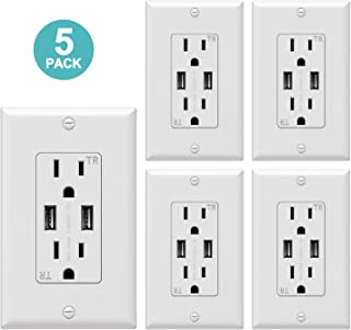 Best self contained rv 120 volt outlets with usb Reviews