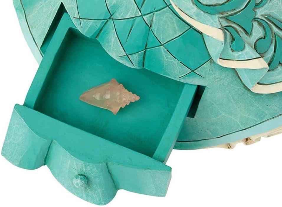 Enesco Jim Shore Disney Traditions Ariel with Shell Charm NIB 6000965