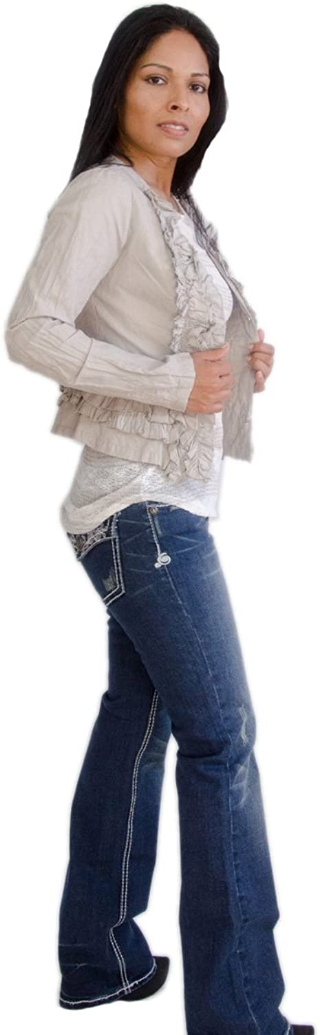 Blazer  Ruffles at Neck with Long Sleeves