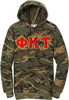Phi Kappa Tau Camo Pullover Hooded Sweatshirt