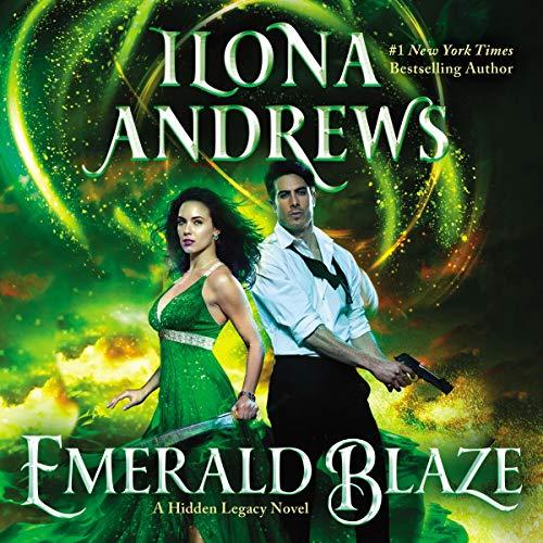 Page de couverture de Emerald Blaze