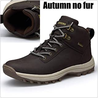 Winter with Fur Warm Snow Boots Footwear Fashion Male Rubber Winter Ankle Boots