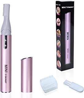 edealing 1 PCS Mini Rotatable Lady Hair Trimmer Razor Eyebrow Shaver Lady Remover Electric