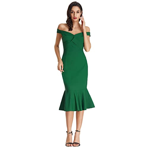 Green Dress For Wedding Guest Amazon Co Uk