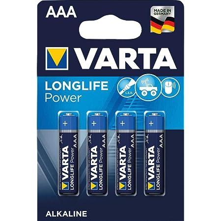 Varta Max Tech Micro Aaa Lr03 4 Stück Elektronik