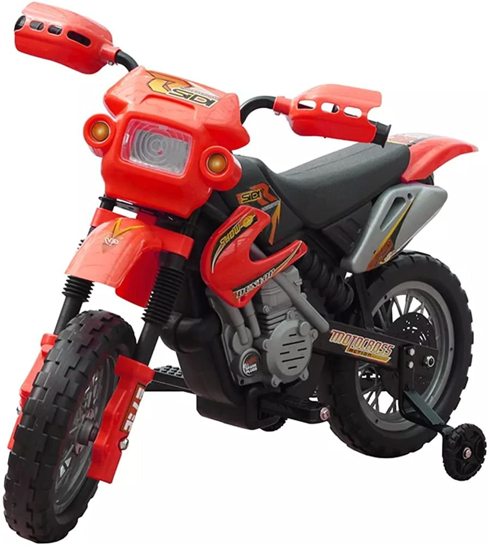 Tidyard Moto électrique pour Enfants     Mini Moto électrique Enfants Rouge 102 x 53 x 66 cm