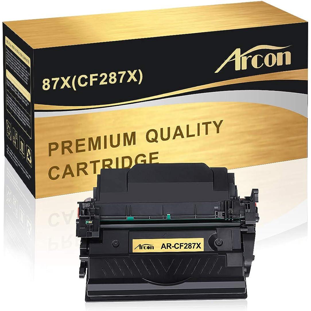 Arcon Compatible Toner Cartridge Replacement for HP 87A CF287A 87X HP Laserjet M506 M506n M506dn HP Laserjet Enterprise M506dn M506N M506X M506 Laserjet MFP M527Dn M527Z M527F Laserjet Pro M501dn M501
