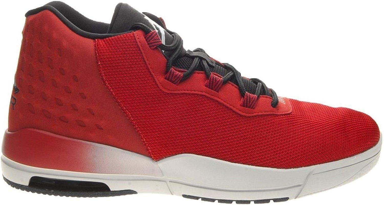 Nike Mens Jordan Academy, Gym RED Wolf Grey-Black, 10