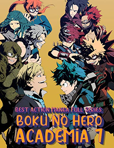 Best Action Manga Full Series Boku No Hero Academia Completed: Boku No Hero Academia Full Edition Vol 7 (English Edition)