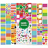 Smart Design: Adorable simplicity style cartoon illustrations will catch young kid' eyes at the first glance. They would very happy to see their delicate decorated Planner. Self-adhesive stickers, easy apply for multiple scenarios. Perfect for motiva...
