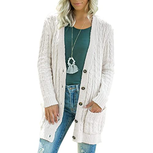 Knitted Long Hooded Sweater Coat Amazoncom