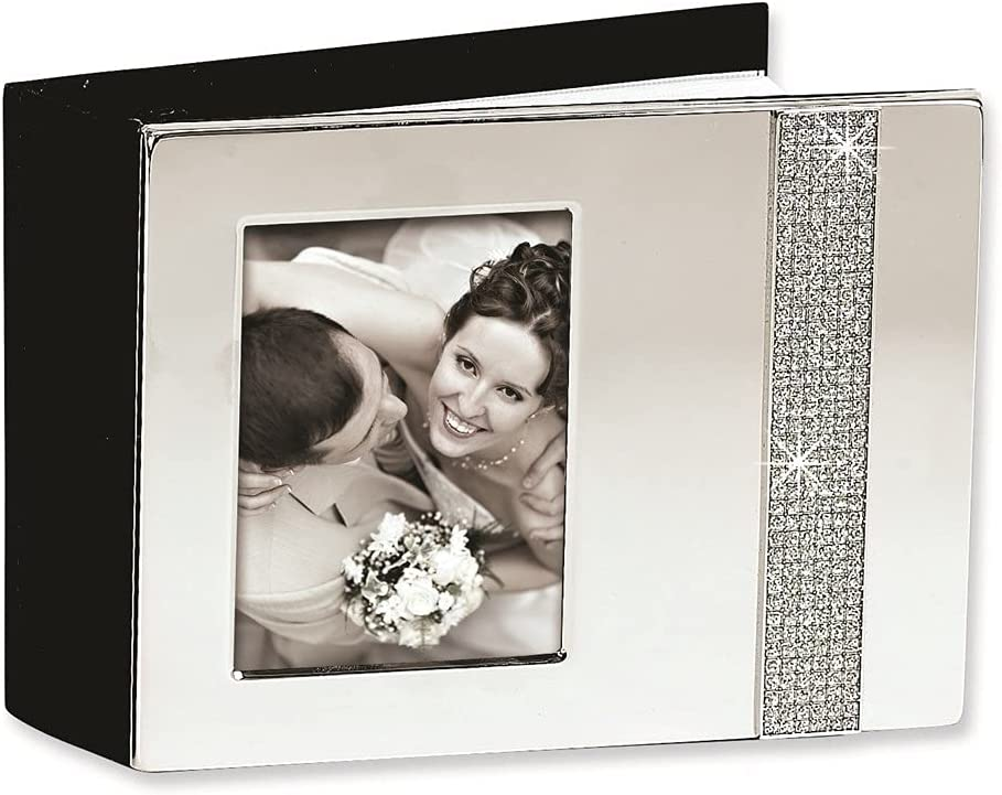 Diamond2Deal Nickel-Plated Holds Max 46% OFF 80-4x6 Glitter A Photo Online limited product Photos