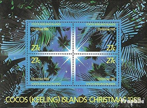 Kokos-Wyspy Blok 5 (pe?ne.Kwestia.) 1985 Bo?e Narodzenie (Znaczki dla kolekcjonerów) Boze Narodzenie