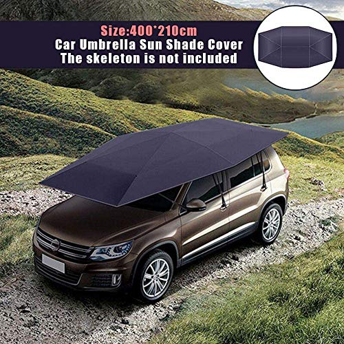 Car Tent with Automatic Car Umbrella Cover-Portable Folding Portable Carport, Used for Summer Waterproof, Windproof, Protective Sunshade Anti-Ultraviolet