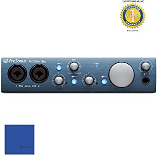 PreSonus AudioBox iTwo 2-in/2-out USB Audio Interface with 1 Year Free Extended Warranty