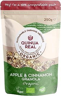 comprar comparacion Granola de quinoa real con manzana y canela sin gluten BIO - Quinua Real - 360g